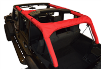 Roll Bar Covers -  for 07-19 Jeep Wrangler JK Unlimited 4 Door full kit