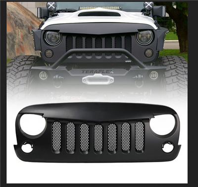 Angry Bird Grill - The Original -  for 2007-2018 jk 2-4 Door Models