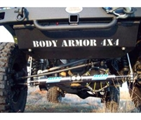 Body Armor Front Skid Plate