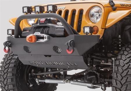 Body Armor JL-5123 Skid Plate Black Skid Plate