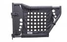Body Armor Rear GEN III Trail Doors with Black Nylon Webbing