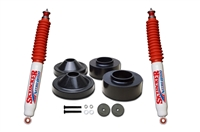 Skyjacker 2 in. Front 3/4 in. Rear Polyurethane Spacer Leveling Kit with Nitro 8000 Shocks