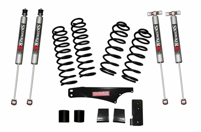 Skyjacker 2-2.5 in. Softride Coil Spring Lift Kit with M95 Monotube Shocks (JK) 4-Door 4WD