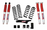 Skyjacker 2.5 in. Softride Coil Spring Lift Kit with Hydro Shocks (JK) 4-Door 4WD