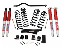 Skyjacker 4 in. Softride Coil Spring Lift Kit with Hydro Shocks (JK) 4-Door 4WD