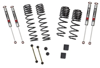 Jeep Wrangler JL 4-Door 4WD 1-1.5 in. Dual Rate-Long Travel Lift Kit System with M95 Shocks