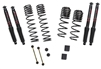 Skyjacker Jeep Wrangler JL 4-Door Rubicon 4WD 1-1.5 in. Dual Rate-Long Travel Lift Kit System with Black MAX Shocks