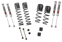 Skyjacker Jeep Wrangler JL 4-Door Rubicon 4WD 1-1.5 in. Dual Rate-Long Travel Lift Kit System with M95 Shocks