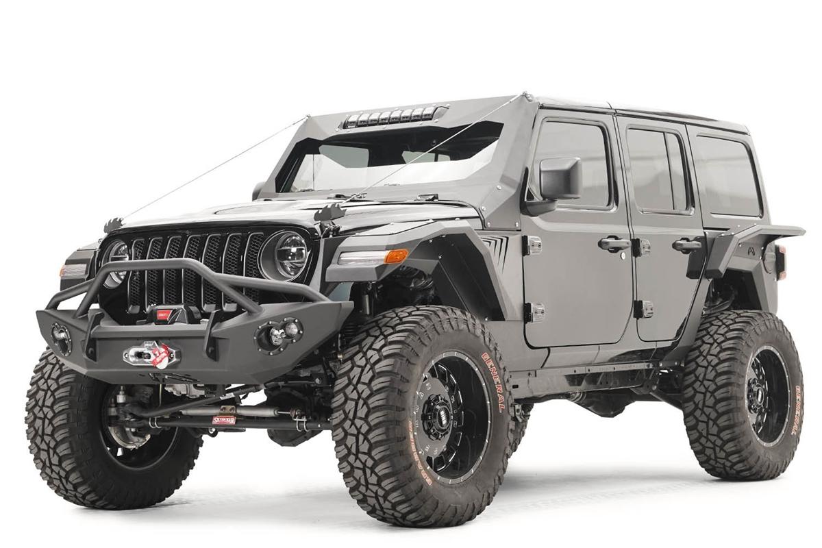 Jeep Jk Wide Fender Flares