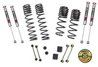 Jeep Wrangler JL 2-Door Rubicon 4WD 2-2.5 in. Dual Rate-Long Travel Lift Kit System with M95 Shocks (Rubicon Models)