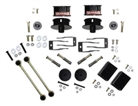 Skyjacker 2.5inch Metal Spacer Lift Kit with Shock Extension Brackets for 18+ Jeep Wrangler JL