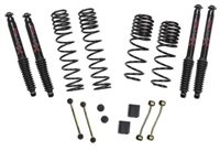Skyjacker 2-2.5  Coil Spring Lift with Black Max Shocks RUBICON JL 4DOOR