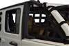 Dirty Dog Cargo sides only Netting 2 pc - for Jeep JLU 4 door Models (Select your color)