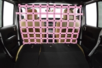 Dirtydog 4X4 Cargo/Pet Divider - Front - for Jeep JL 4Door 2018-Up
