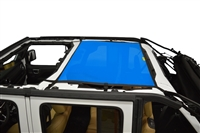 Dirtydog 4X4 Sun Screen Rear - for 18+ Jeep Wrangler JLU 4 Door Models