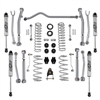 Rubicon Express 3.5 / 4.5inch Super-Flex Suspension Kit with 2.5inch  Monotube Shocks For 18+ Jeep Wrangler JL