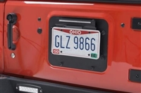 BackSide License Plate with LED