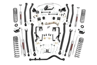 Rough Country 4in Jeep Long Arm Suspension Lift Kit (07-18 Wrangler JK | 4-door)
