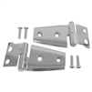 Crown Automotive Rough Trail Stainless Steel Hood Hinge Set for 07-18 Jeep Wrangler JK
