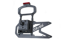 DV8 Offroad Tailgate Mounted Tire Carrier for 18+ Jeep Wrangler JL