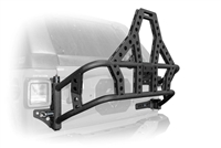 DV8 Off Road Body Mounted Tire Carrier for 18-Present Jeep Wrangler JL