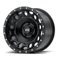 XD129 , 17x9 Wheel with 5 on 5 Bolt Pattern