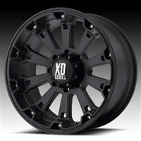 XD Wheels XD800 Misfit, 17x9 with 5 on 5 Bolt Pattern