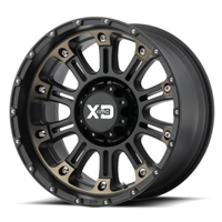 XD829 Hoss 2, 17X9 with 5X5.0 Bolt Pattern