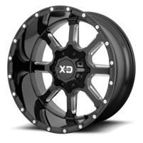 XD Wheels XD838 Mammoth, 20x9 Wheel with 5x5/5x5.5 Bolt Pattern
