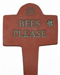 Bees Please Garden Ornament