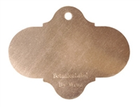Our copper plant labels tie onto branches, fences and more. Mark your plants in the garden. Includes a paint pen.