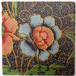 Travertine Tile TT109 Batik Flower