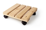 Our cedar wood plant caddy is made of northwestern cedar wood in the USA. Perfect solution to protect your floor and deck. On wheels, for easy moving.