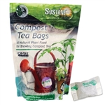 Organic compost tea for feeding plants; all natural plant food