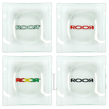"204-GRTS ROOR Glass Trays. 4""x4"" 6mm"