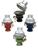 "BO01 HOOKAH BOWL WITH METAL COVER 4"" TALL"