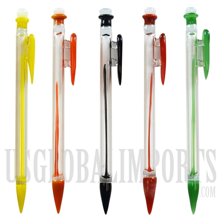 "CA-58 6"" Mechanical Pencil Glass Dabber. Comes in different colors assorted"