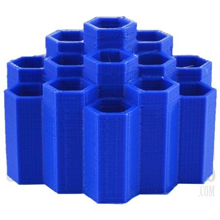 CA-60 Hexagon Honeycomb Dabber Holder. Colors Come Assorted