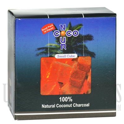 CH-091 Coco Nour Charcoal. Small Cubes 18PC 250g.