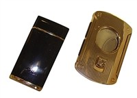 COLIBRI-01 FANCY CIGAR CUTTER AND TORCH