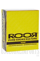 CP-100 King Size Hemp Rolling Paper by ROOR. 50 Booklet Box