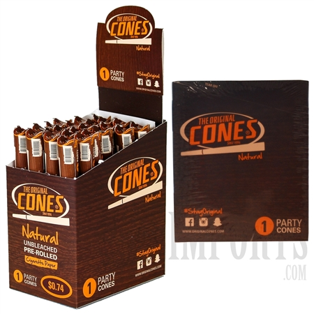 CP-112 The Original Pre-Rolled Cones. 24 Packs. 1 Party Cones. Cigarette Paper