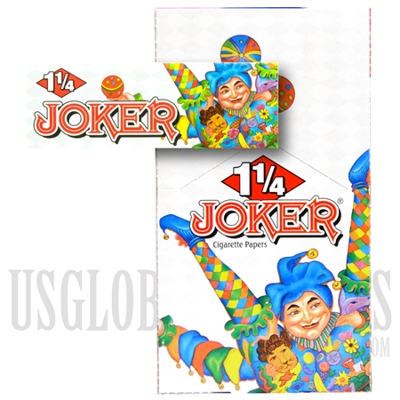 CP-15 Joker Finest Quality Rolling Papers 1 1/4 Size