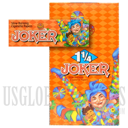 CP-16 Joker Finest Quality Slow Burning Rolling Papers 1 1/4 Size
