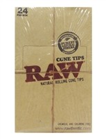 CP106 Raw Natural Rolling Cone Tips