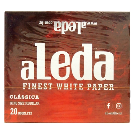 CP25 aLedinha Finest White Paper | Classic King Size | 20 Booklets