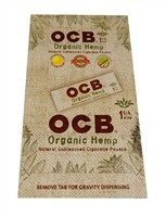 CP80 OCB Organic Hemp 1 1/4 Cigarette Papers (No Tips)