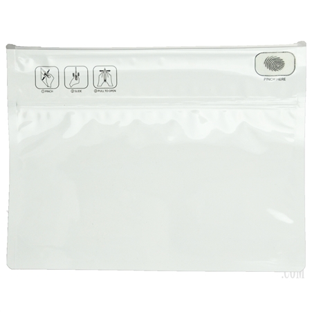 "DBB-12 Smell & Child Proof Ziplock Bag. 9""x12"". 2 Colors"