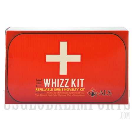 DE-204 The Whizz Kit. Refillable Urine Novelty Kit