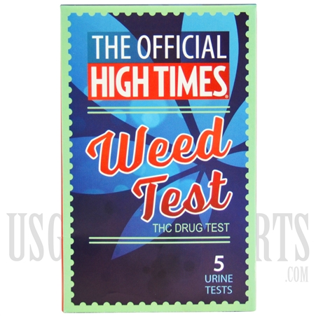 DE-21 HIGH TIMES WEED TEST WITH CONTROL. 5 URINE TESTS